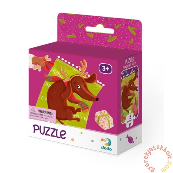 Dodo 16 db-os puzzle - Kutyus ajándékai (300262)