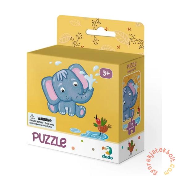 Dodo 16 db-os puzzle - Kis elefánt (300162)
