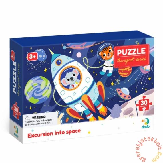 Dodo Transport Series 30 db-os puzzle - Űrkaland (300374)