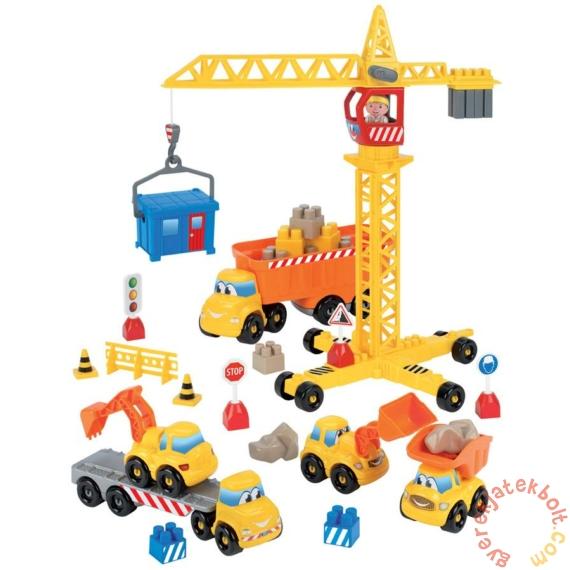 Écoiffier Abrick Építkezés játékszett figurával (3020)
