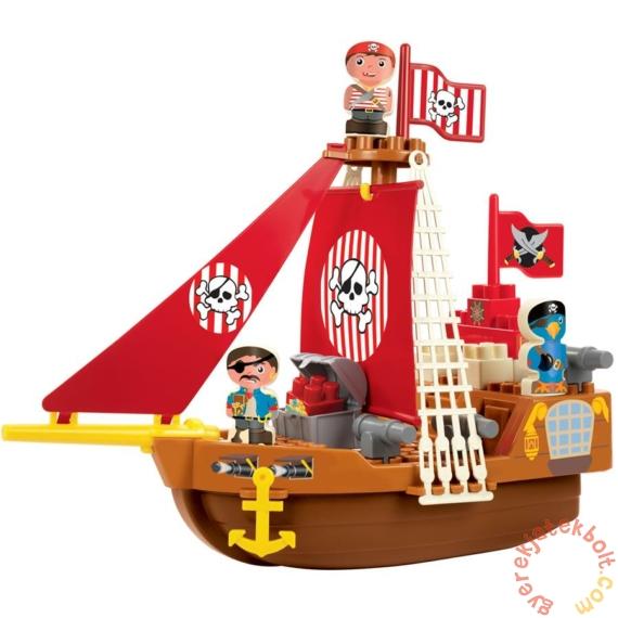 Écoiffier Abrick Kalózhajó játékszett figurákkal (3023)