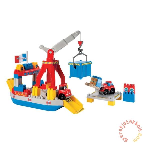 Écoiffier Abrick Konténeres hajó játékszett (3030)