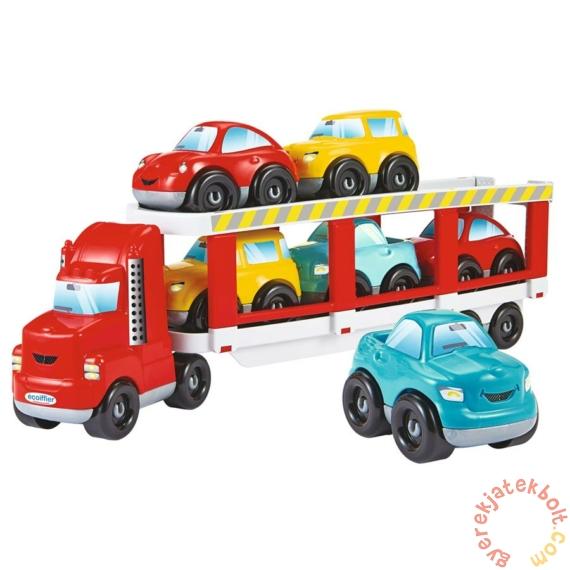 Abrick Autószállító kamion kisautókkal