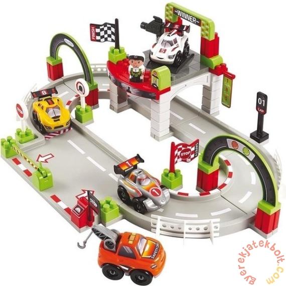 Abrick Grand Prix versenypálya 4 kisautóval