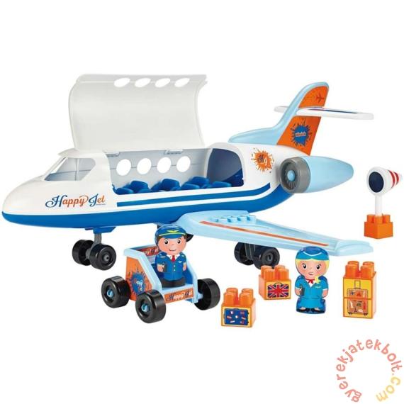 Abrick Happy Jet utasszállító repülőgép építőjáték