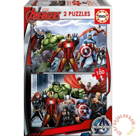 Educa 2 x 100 db-os puzzle - Avengers - Bosszúállók (15771)