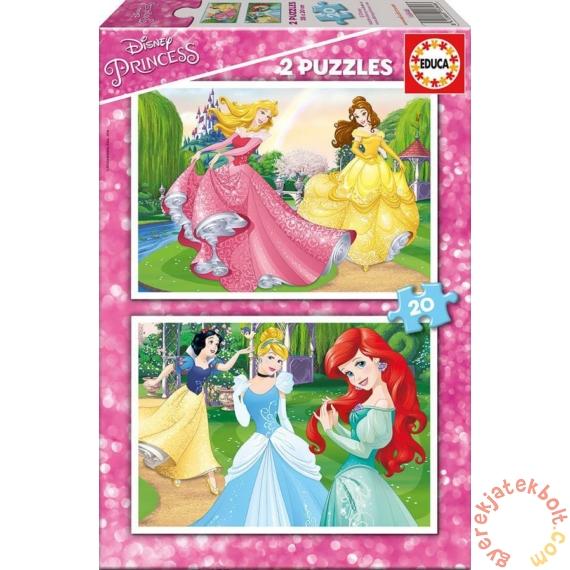 Educa 2 x 20 db-os puzzle - Disney Princess (16846)