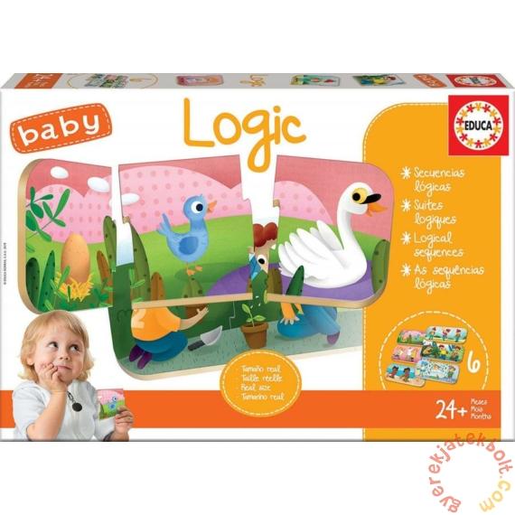 Educa baby oktató puzzle - Logika 2 (18120)