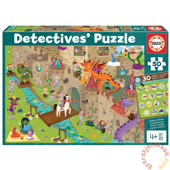 Educa 50 db-os Detektív puzzle - A vár (18895)