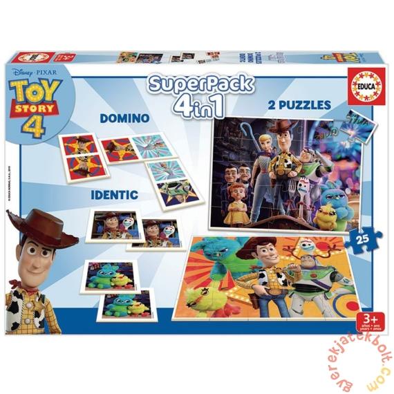 Educa 4 az 1-ben játékgyűjtemény - Toy Story 4 (18348)