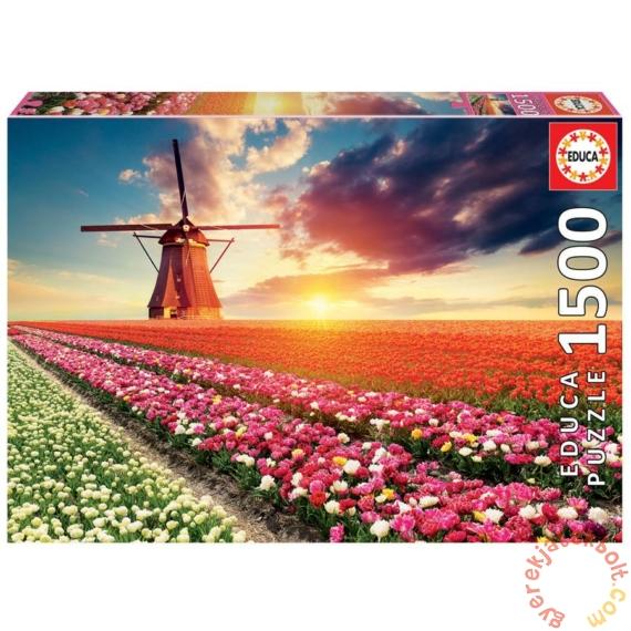 Educa 1500 db-os puzzle - Tulipánmező (18465)