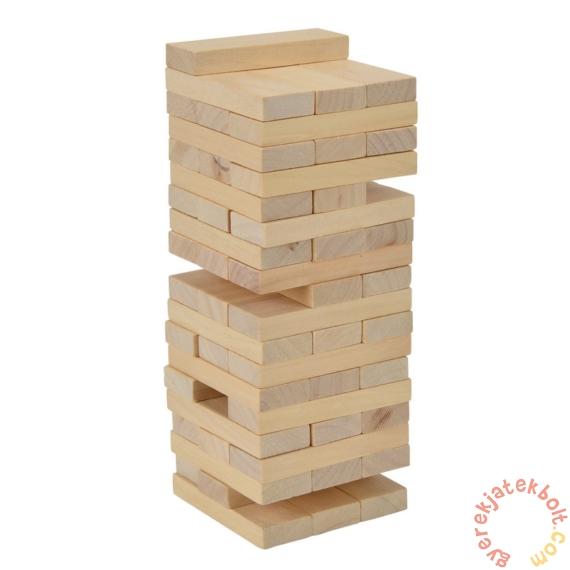Imbolygó torony fa ügyességi játék