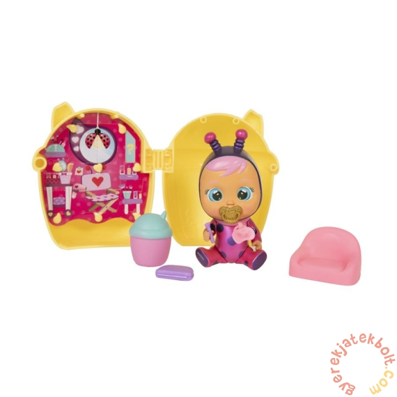 Cry Babies Varázs könnyek meglepetés baba cumisüveg házikóban S3 (IMC097629)