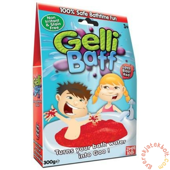Gelli Baff fürdőzselé 300 g - Piros (5004)
