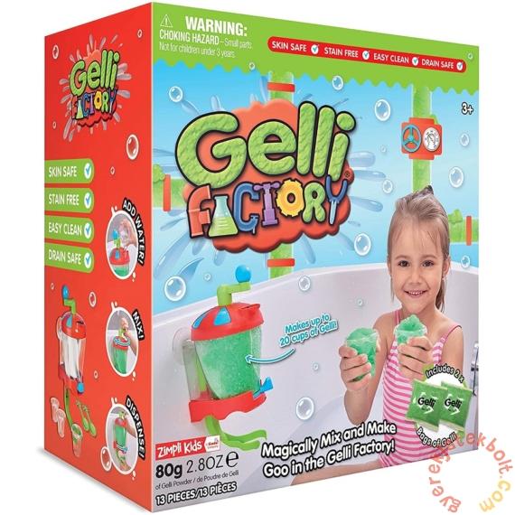 Gelli Factory Fürdőzselé készítő szett - Zöld
