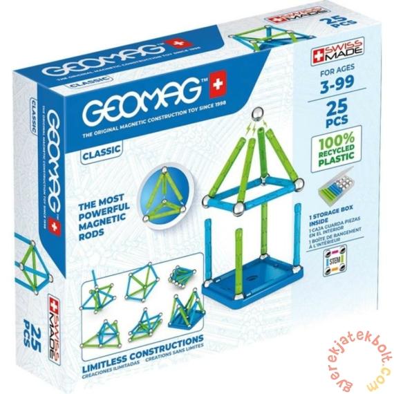 Geomag Classic Green Line 25 db mágneses építőjáték