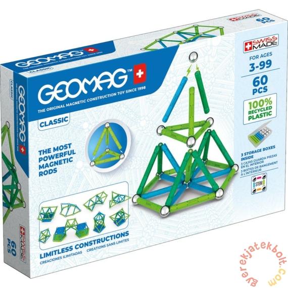 Geomag Classic Green Line 60 db mágneses építőjáték