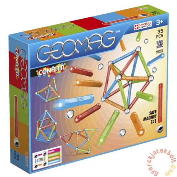 Geomag Confetti 35 db-os mágneses építőjáték készlet