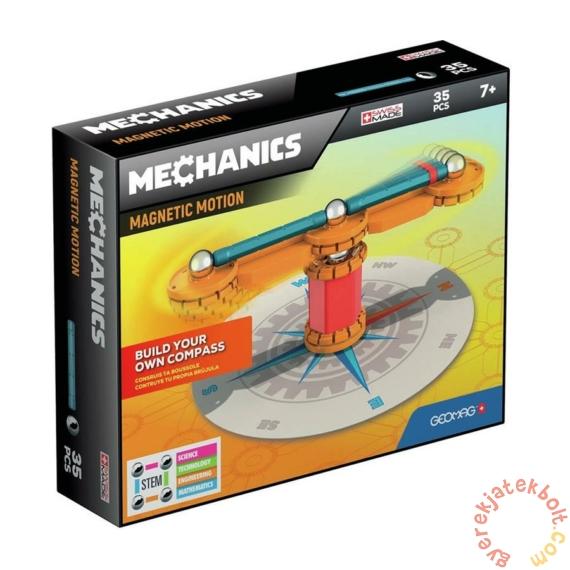 Geomag Mechanics Magnetic Motion 35 db-os mágneses építőjáték készlet