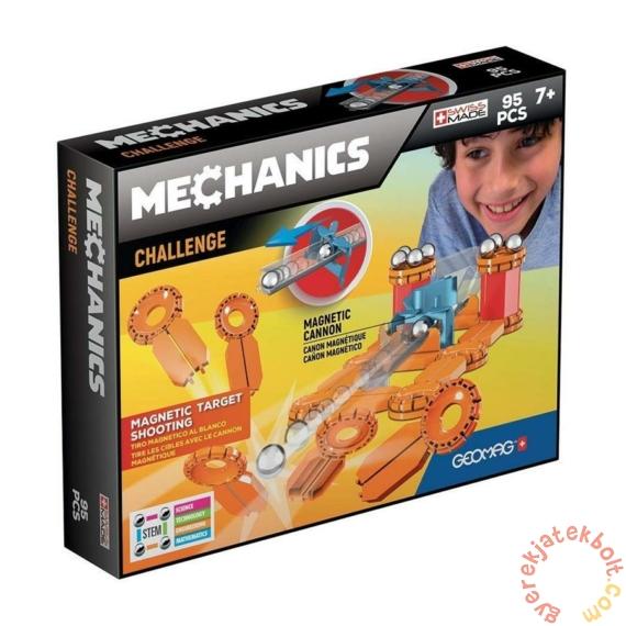 Geomag Mechanics Challenge 95 db-os mágneses építőjáték készlet