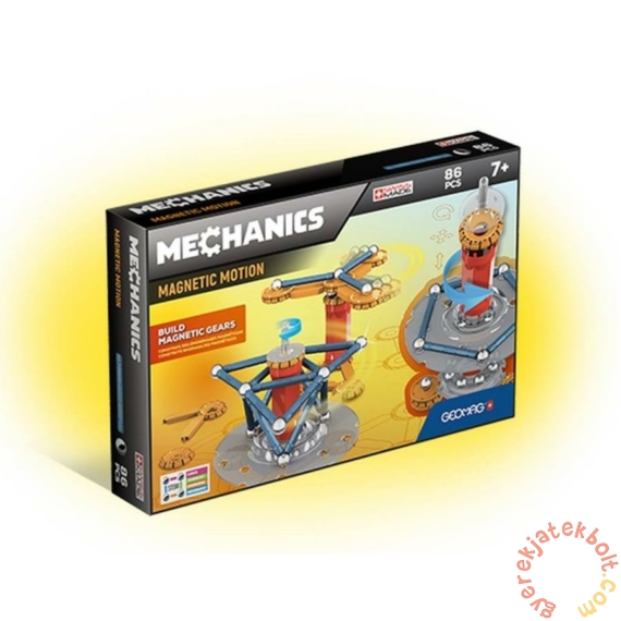 Geomag Mechanics Magnetic Motion 86 db-os mágneses építőjáték készlet