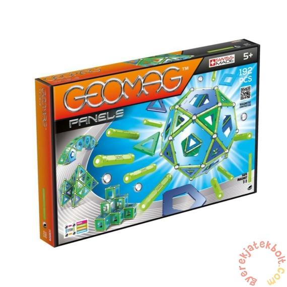 Geomag Panels - 192 db-os mágneses építőjáték készlet