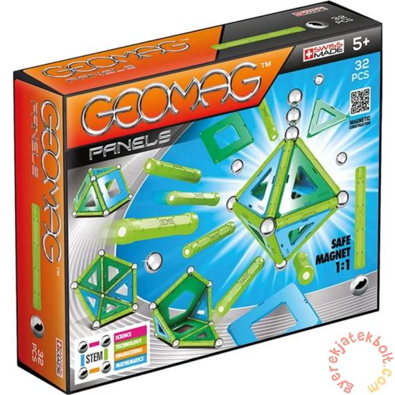 Geomag Panels 32 db-os mágneses építőjáték készlet