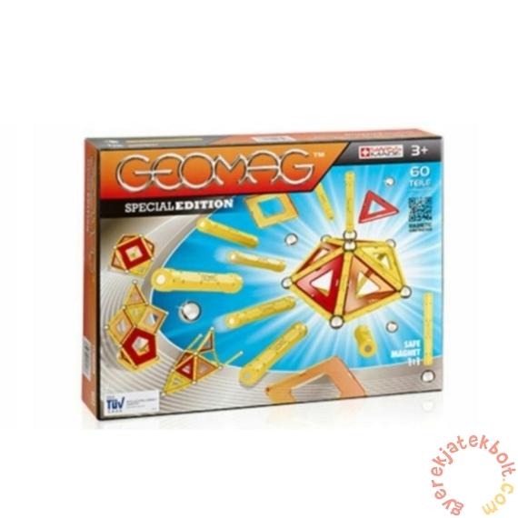 Geomag Panels Special Edition - Sárga 60 db-os mágneses építőjáték készlet