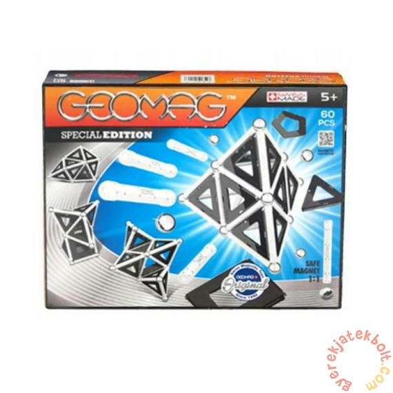 Geomag Black & White Special Edition - Fekete-fehér 60 db-os mágneses építőjáték készlet (GMG00817)