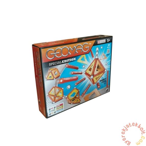 Geomag Special Edition - Warm color 34 db-os mágneses építőjáték készlet