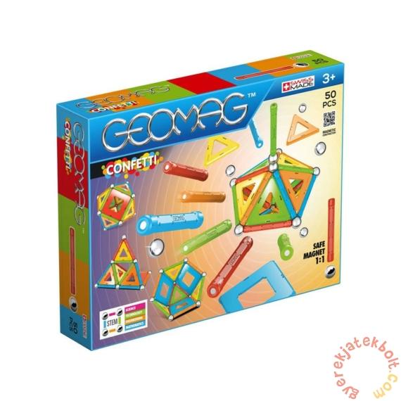 Geomag Confetti 50 db-os mágneses építőjáték készlet (GMG00352)