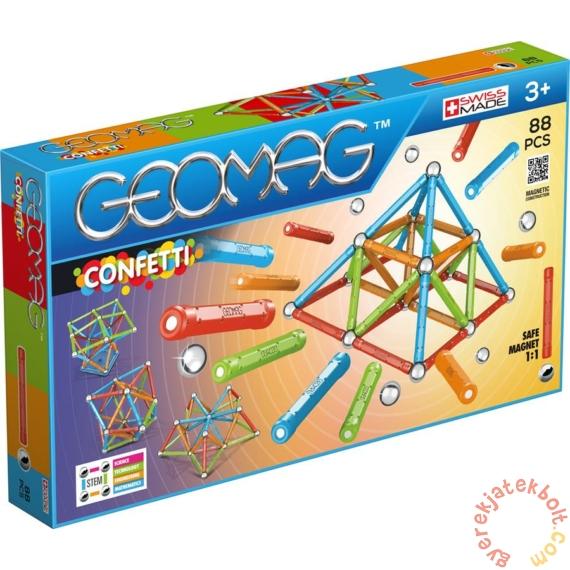 Geomag Confetti 88 db-os mágneses építőjáték készlet (GMG00353)