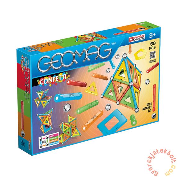 Geomag Confetti 68 db-os mágneses építőjáték készlet (GMG00355)