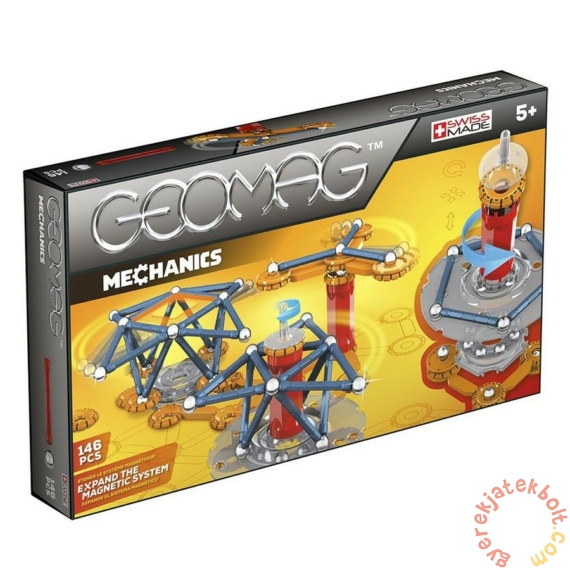 Geomag Mechanics 146 db-os mágneses építőjáték készlet (GMG00762)