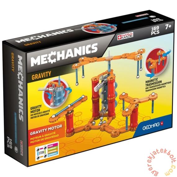 Geomag Mechanics Gravity Motor System 169 db-os mágneses építőjáték készlet (GMG00773)