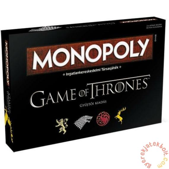 Hasbro - Monopoly Trónok harca társasjáték - Gyűjtői kiadás
