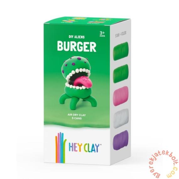 Hey Clay gyurma készlet - Burger alien