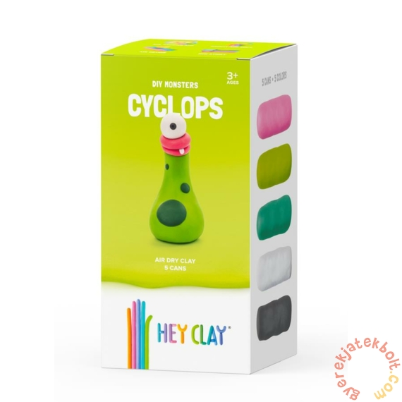 Hey Clay gyurma készlet - Cyclops monster