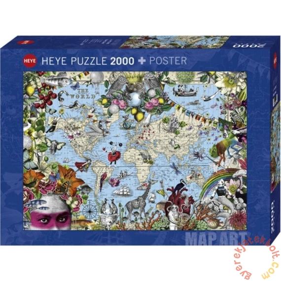 Heye 2000 db-os puzzle - Quirky World, Pabuku (29913)