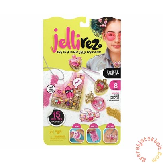 Jelli Rez ékszerkészítő kreatív készlet - Édesség