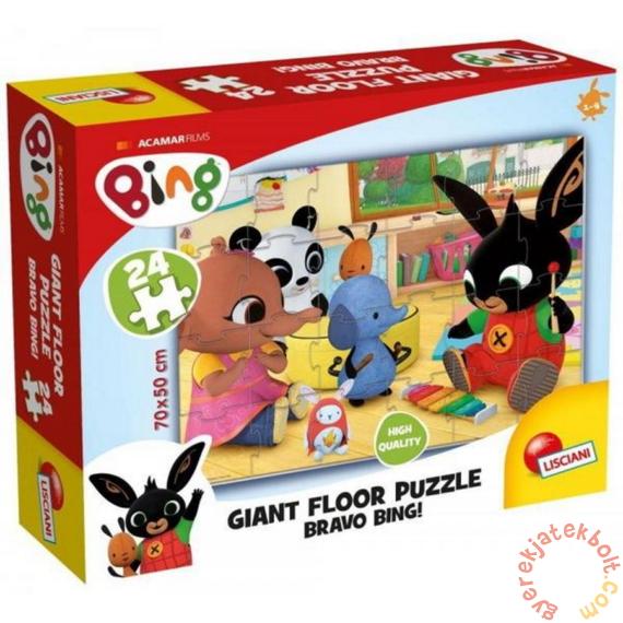 Lisciani 24 db-os Floor puzzle - Bing - Bravo Bing! (75805)