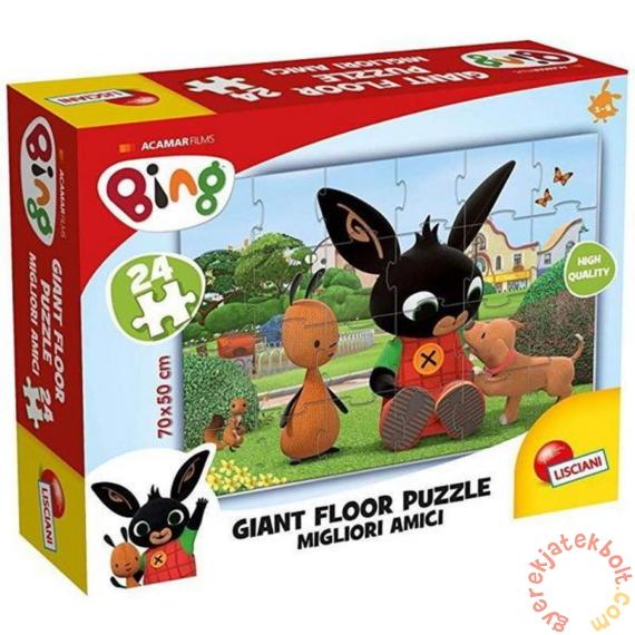 Lisciani 24 db-os Floor puzzle - Bing - Legjobb barátok! (75812)