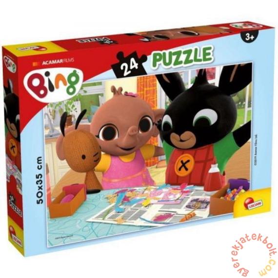 Lisciani 24 db-os puzzle - Bing - Szórakozzunk együtt! (77984)
