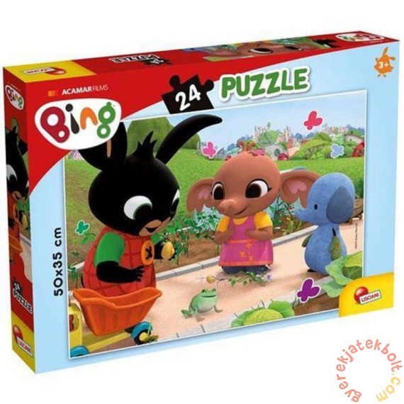 Lisciani 24 db-os puzzle - Bing - A béka (77991)