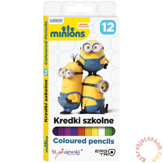 Minyonok 12 db-os színesceruza - készlet (171789)