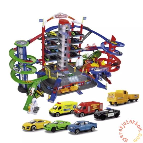 Majorette 7 emeletes parkolóház kisautókkal (2059989)
