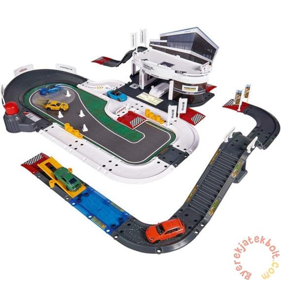 Majorette Creatix Porsche Élményközpont 5 db kisautóval