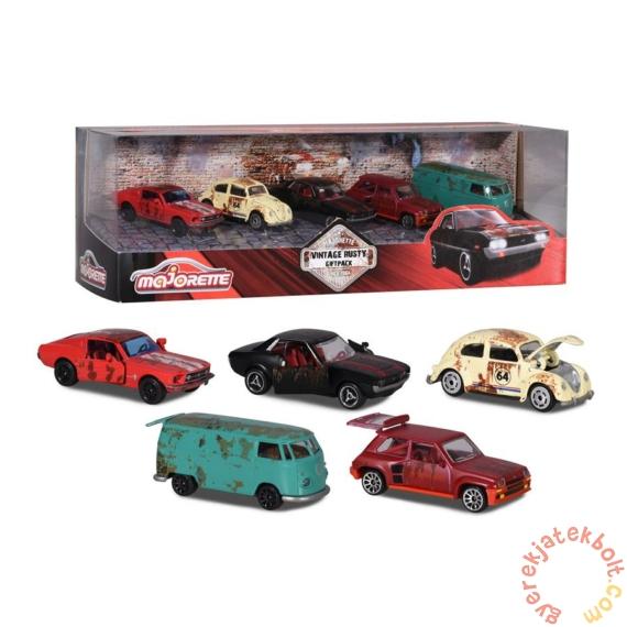 Majorette 5 db-os kisautó ajándékszett - Vintage rusty