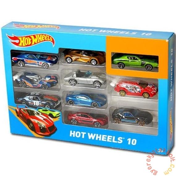 Hot Wheels kisautó szett 10 db-os (54886)