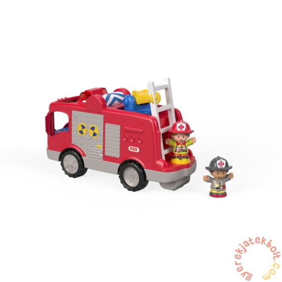 Fisher-Price Little People - Tűzoltóautó (GXR77)